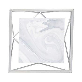 Ramă foto 10 x 10 cm Umbra Prisma, argintiu poza bonami.ro