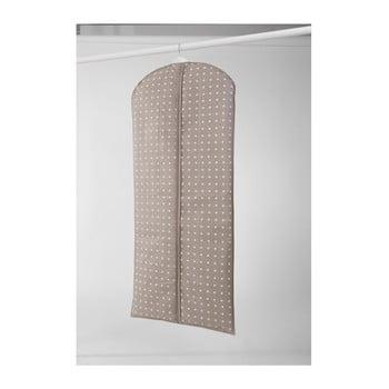 Husă mare pentru haine Compactor Dots, 137 cm, bej bonami.ro