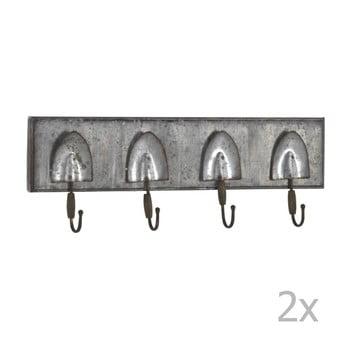 Set 2 cuiere din metal pentru perete Geese Gardener poza bonami.ro