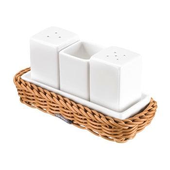Set accesorii masă cu suport Westmark, alb-natural bonami.ro
