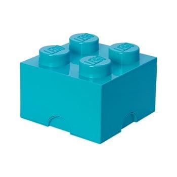 Cutie depozitare, LEGO®, albastru bonami.ro