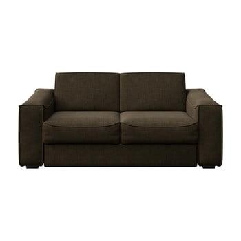 Canapea cu 2 locuri MESONICA Munro, maro poza bonami.ro
