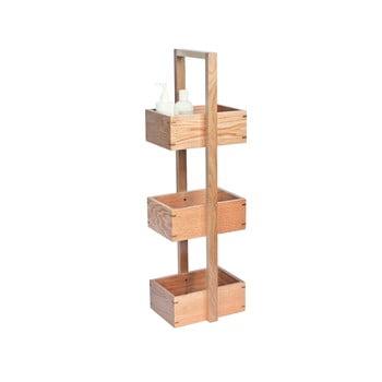 Suport din lemn pentru baie, Wireworks Caddy Mezza, înălțime 84 cm bonami.ro
