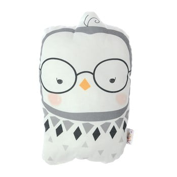 Pernă din amestec de bumbac pentru copii Mike&Co.NEWYORK Pillow Toy Argo Birdie, 17 x 27 cm poza bonami.ro