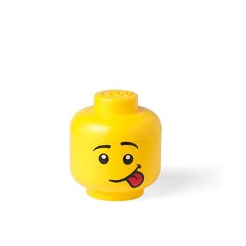 Cutie depozitare LEGO® Silly S, galben, ⌀ 16,3 cm bonami.ro