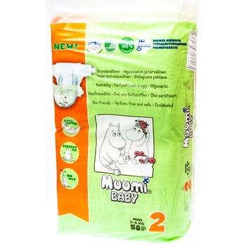 Scutece pentru bebeluși Muumi Baby Mini, mărimea 2, 3 x 58 poza bonami.ro