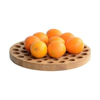 Bol din lemn pentru fructe Geo, Ø 36 cm imagine