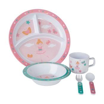 Set 5 vesele din melamină pentru copii Premier Housewares Ballerina bonami.ro