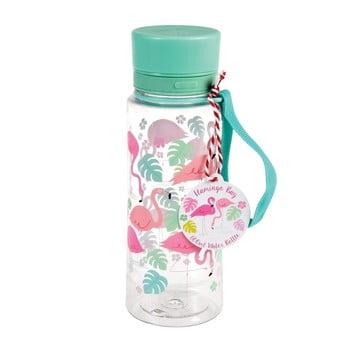 Sticlă de apă Rex London Flamingo Bay, 600 ml poza bonami.ro