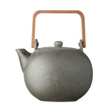 Ceainic din gresie ceramică Bitz Basics, 1,2 l, gri bonami.ro