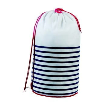 Sac pentru rufe Compactor Laundry Bag Stripes poza bonami.ro