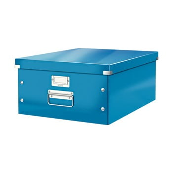 Cutie depozitare Leitz Universal, lungime 48 cm, albastru poza bonami.ro