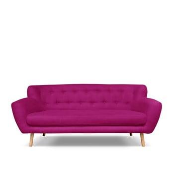 Canapea Cosmopolitan design London, 192 cm, roz închis bonami.ro