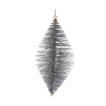 Decorațiune suspendată Dakls, lungime 24 cm, argintiu bonami.ro