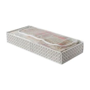 Cutie depozitare textile Compactor, lungime 107 cm, bej poza bonami.ro