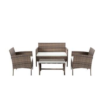 Set mobilier de grădină din ratan artificial Timpana Berry poza bonami.ro