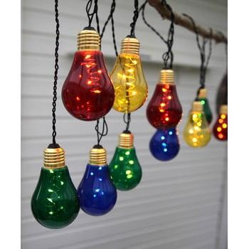 Șirag luminos LED Best Season Glow, 10 becuri, multicolor bonami.ro