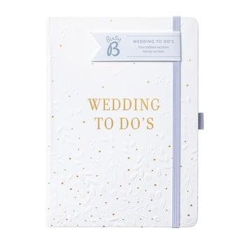 Planificator de nuntă Busy To Do, alb poza bonami.ro