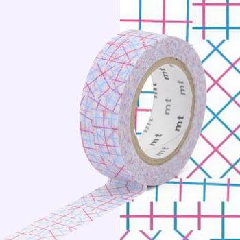 Bandă decorativă Washi MT Masking Tape Genevieve, rolă 10 m bonami.ro