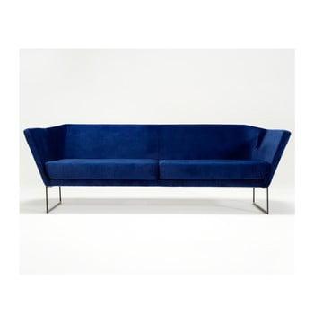 Canapea cu 3 locuri Spoko, albastru imagine