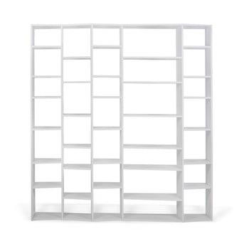 Bibliotecă TemaHome Valsa lățime 216 cm, alb imagine