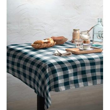 Față de masă Linen Couture Turquoise Vichy, 140 x 200 cm bonami.ro