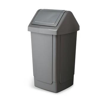 Coș de gunoi Addis Swing Bin, 33 x 33 x 66,5 cm, gri bonami.ro