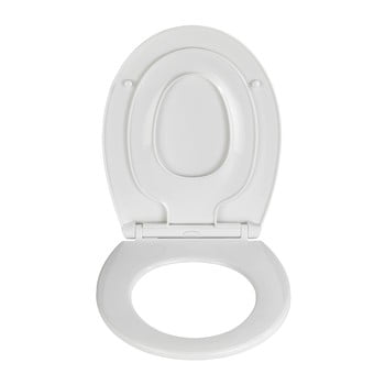 Capac WC 2 în 1 Wenko Syros, 44, x 37,5 cm bonami.ro