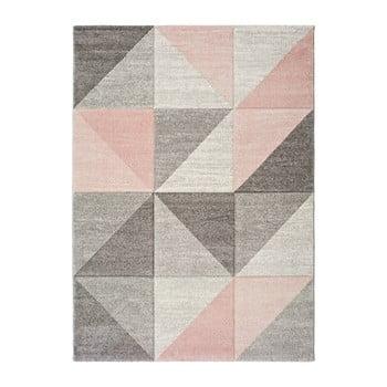 Covor Universal Retudo Naia, 140 x 200 cm, gri-roz imagine