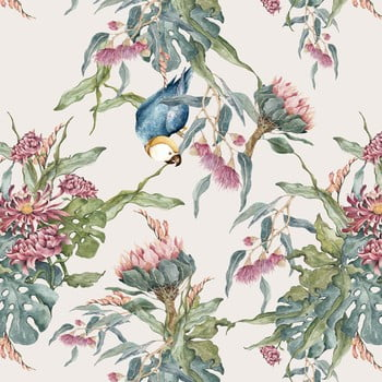 Tapet Dekornik Tropical Parrot, 50 x 280 cm bonami.ro