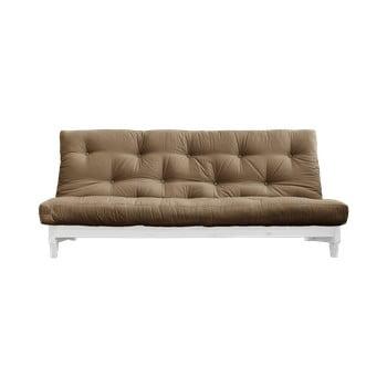 Canapea extensibilă Karup Design Fresh White/Mocca imagine