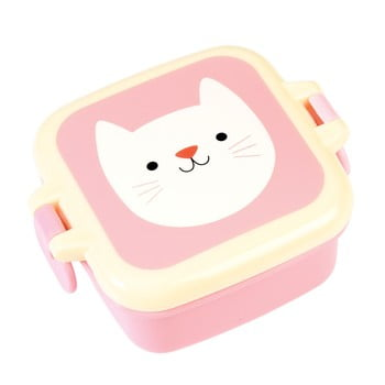 Cutie pentru gustare Rex London Cookie the Cat, roz poza bonami.ro