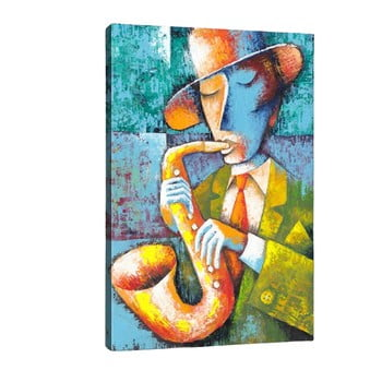 Tablou Tablo Center Saxophone, 50 x 70 cm bonami.ro