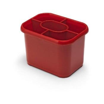 Scurgător vase pentru tacâmuri Addis Classic, roșu bonami.ro