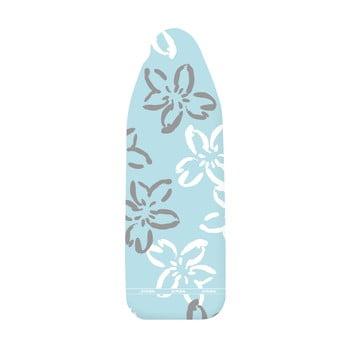 Husă din bumbac pentru masa de călcat Wenko Flowers XL, albastru bonami.ro