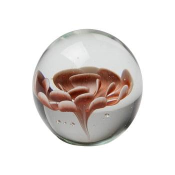 Decoraţiune din sticlă cu floare maro BePureHome Botanics poza bonami.ro