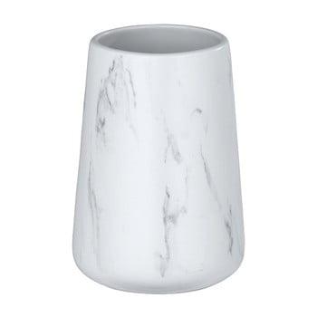 Suport din ceramică pentru periuțele de dinți Wenko Adrada, alb bonami.ro