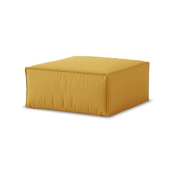 Puf Cosmopolitan Design Miami, 65 x 65 cm, galben muștar bonami.ro