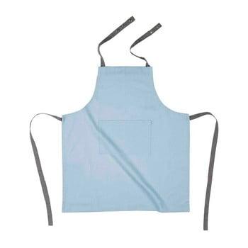 Șorț de bucătărie din bumbac Tiseco Home Studio, albastru deschis bonami.ro
