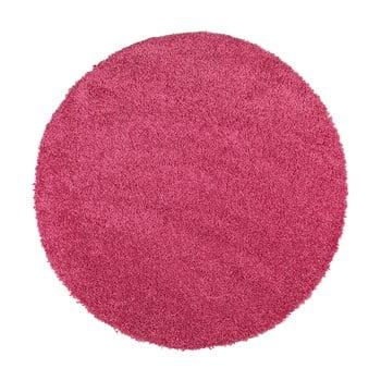 Covor rotund Universal Aqua Liso, ø 80 cm, roz bonami.ro