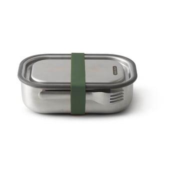 Cutie din oțel inoxidabil pentru gustări și curea verde Black + Blum, 1000 ml poza bonami.ro