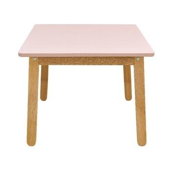 Masă pentru copii BELLAMY Woody, roz deschis bonami.ro