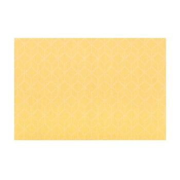 Șervet decorativ Tiseco Home Studio Cubes, 45 x 30 cm, galben bonami.ro