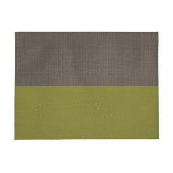 Suport pentru farfurie Tiseco Home Studio Stripe, 33x45cm, bej - verde poza bonami.ro