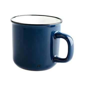 Cană din ceramică Dakls, 440ml, albastru închis bonami.ro