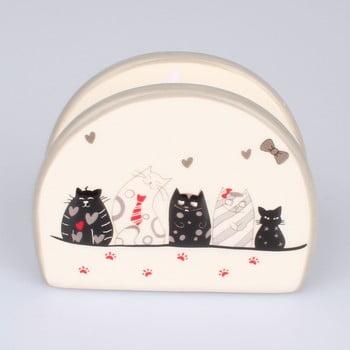 Suport din ceramică pentru șervețelele din hârtie Dakls Cats poza bonami.ro