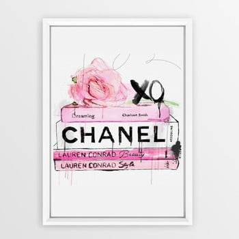 Poster cu ramă Piacenza Art Books Chanel, 30 x 20 cm bonami.ro