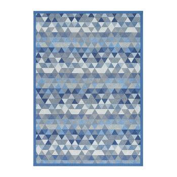 Covor reversibil Narma Luke Blue, 80 x 250 cm, albastru imagine