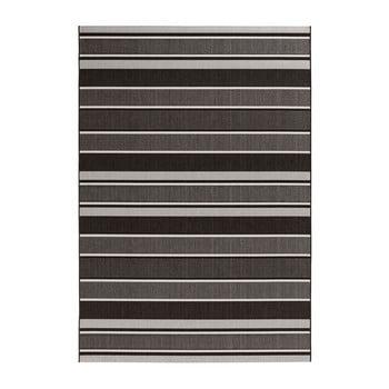 Covor de exterior Bougari Strap, 200 x 290 cm, negru imagine