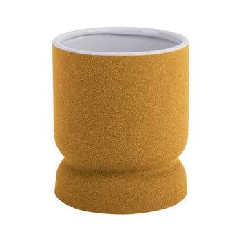 Vază din ceramică PT LIVING Cast, înălțime 17cm, galben bonami.ro